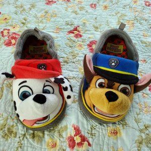 Paw Patrol Slippers House Shoes XL 11/12